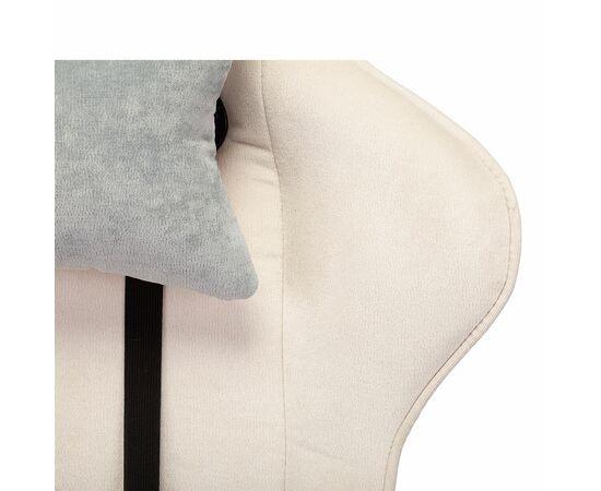 Игровое кресло Бюрократ VIKING X Fabric White-Green, Вариант цвета: white/green фото, изображение 12