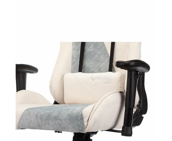 Игровое кресло Бюрократ VIKING X Fabric White-Blue (1428212) фото, изображение 9