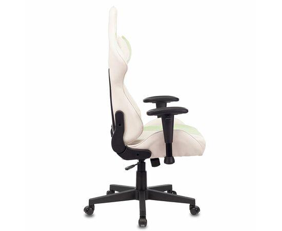 Игровое кресло Бюрократ VIKING X Fabric White-Green, Вариант цвета: white/green фото, изображение 3