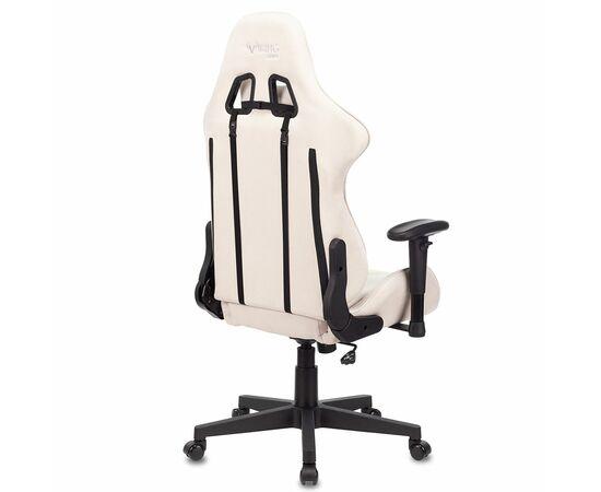Игровое кресло Бюрократ VIKING X Fabric White-Green, Вариант цвета: white/green фото, изображение 4