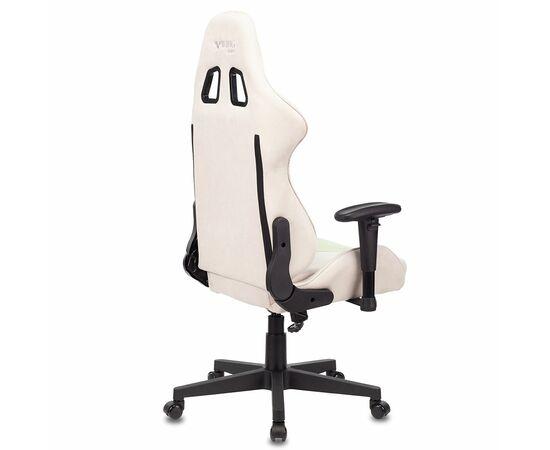 Игровое кресло Бюрократ VIKING X Fabric White-Green, Вариант цвета: white/green фото, изображение 8