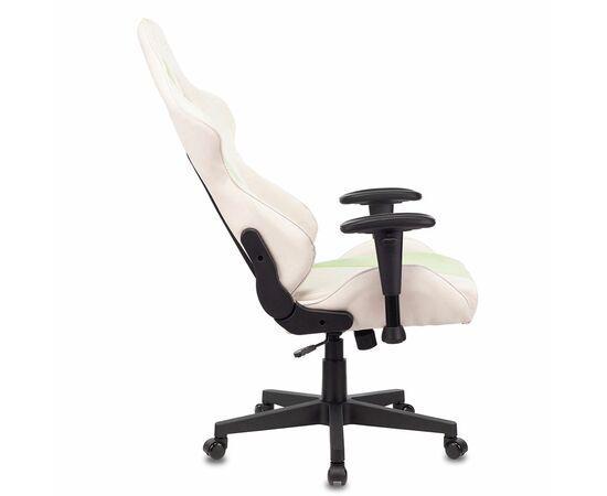 Игровое кресло Бюрократ VIKING X Fabric White-Green, Вариант цвета: white/green фото, изображение 9