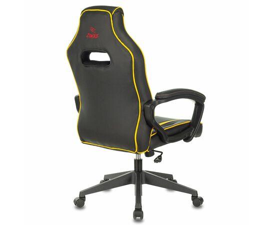 Игровое кресло Бюрократ VIKING ZOMBIE A3 Black/Yellow, Вариант цвета: black/yellow фото, изображение 3