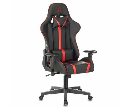 Игровое кресло Бюрократ VIKING ZOMBIE A4 Black-Red (1366280) фото, изображение 2