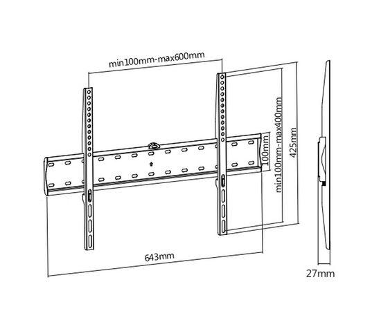 Кронштейн Ultramounts UM805F фото, изображение 3