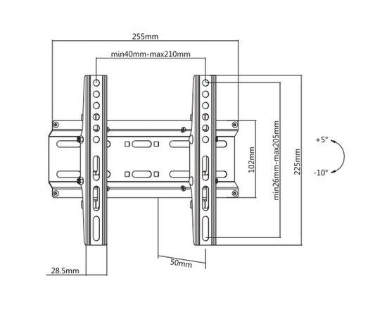Кронштейн Ultramounts UM836T фото, изображение 2