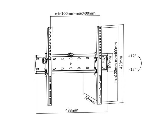 Кронштейн Ultramounts UM838T фото, изображение 2