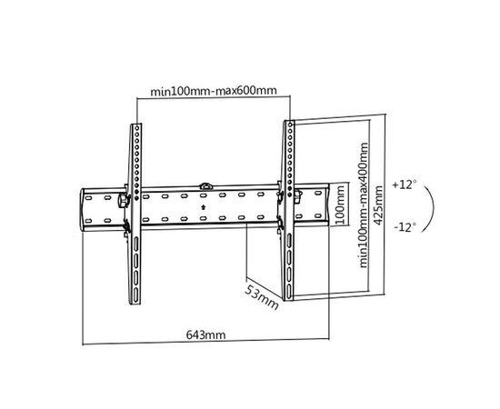 Кронштейн Ultramounts UM839T фото, изображение 3