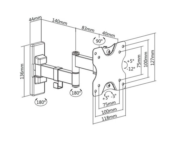 Кронштейн Ultramounts UM861 фото, изображение 4