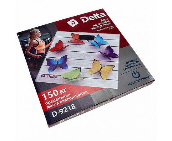 Весы напольные электронные DELTA D-9218 Радужные бабочки фото, изображение 2