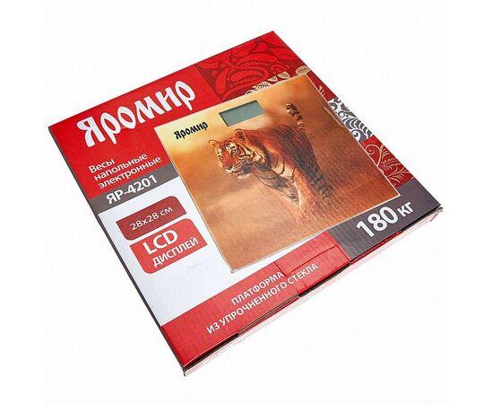 Весы напольные электронные Яромир ЯР-4201 Тигр фото, изображение 2