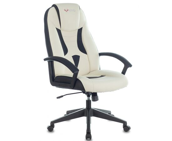 Игровое кресло Бюрократ VIKING-8 White-Black, Вариант цвета: white/black фото, изображение 2