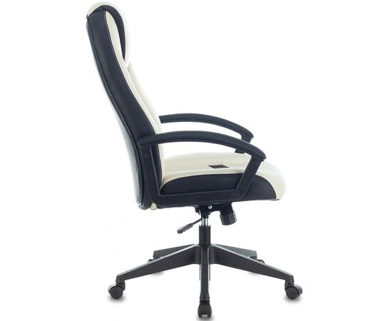 Игровое кресло Бюрократ VIKING-8 White-Black, Вариант цвета: white/black фото, изображение 3