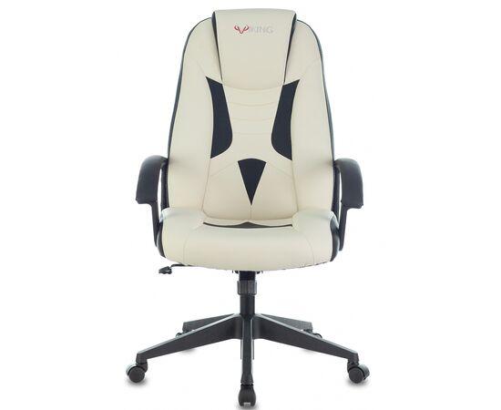 Игровое кресло Бюрократ VIKING-8 White-Black, Вариант цвета: white/black фото