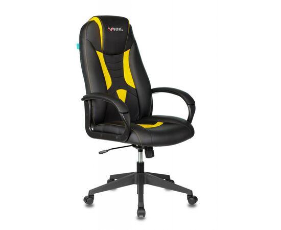 Игровое кресло Бюрократ VIKING-8N Black/Yellow, Вариант цвета: black/yellow фото, изображение 2