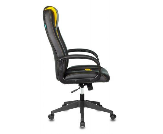 Игровое кресло Бюрократ VIKING-8N Black/Yellow, Вариант цвета: black/yellow фото, изображение 3