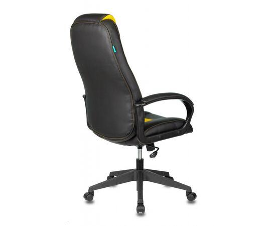 Игровое кресло Бюрократ VIKING-8N Black/Yellow, Вариант цвета: black/yellow фото, изображение 4
