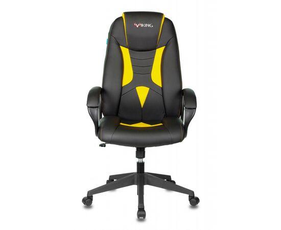 Игровое кресло Бюрократ VIKING-8N Black/Yellow, Вариант цвета: black/yellow фото