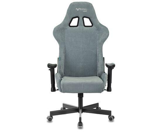 Игровое кресло Бюрократ Zombie VIKING KNIGHT Fabric Grey-Blue (1372998) фото, изображение 14