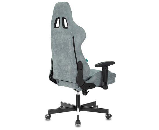 Игровое кресло Бюрократ Zombie VIKING KNIGHT Fabric Grey-Blue (1372998) фото, изображение 16