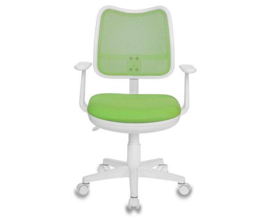 Детское кресло Бюрократ CH-W797/SD/TW-18 салатовый TW-18 фото