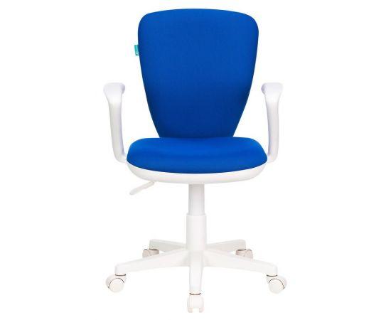 Детское кресло Бюрократ KD-W10AXSN/26-21 синий фото