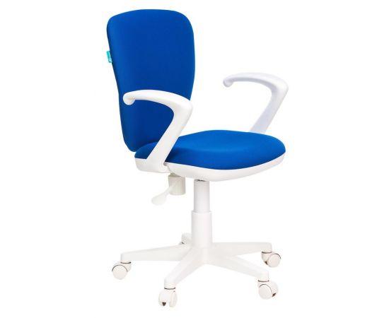 Детское кресло Бюрократ KD-W10AXSN/26-21 синий фото, изображение 2