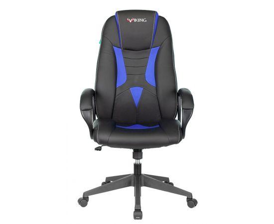 Игровое кресло Бюрократ VIKING-8N/BL-BLUE, Вариант цвета: black/blue фото