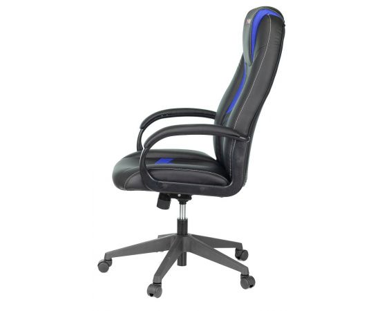 Игровое кресло Бюрократ VIKING-8N/BL-BLUE, Вариант цвета: black/blue фото, изображение 3