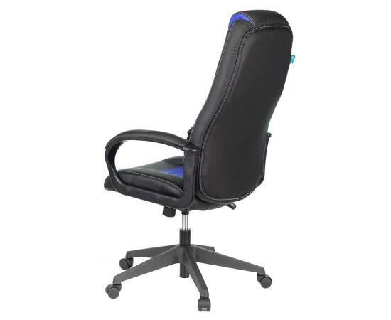 Игровое кресло Бюрократ VIKING-8N/BL-BLUE, Вариант цвета: black/blue фото, изображение 4