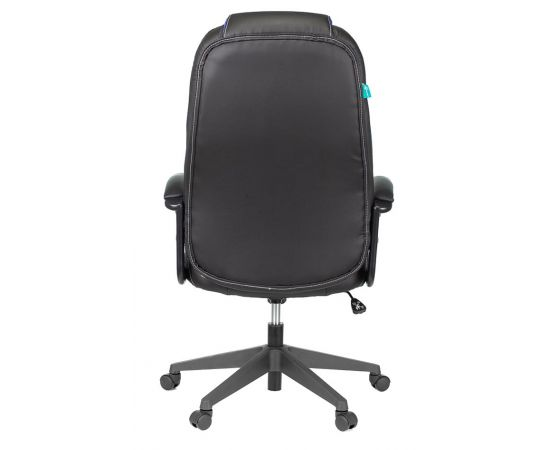 Игровое кресло Бюрократ VIKING-8N/BL-BLUE, Вариант цвета: black/blue фото, изображение 5