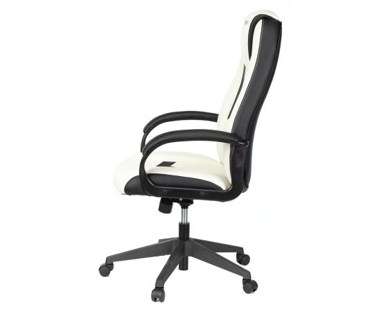 Игровое кресло Бюрократ VIKING-8N/WH-BLACK, Вариант цвета: white/black фото, изображение 3