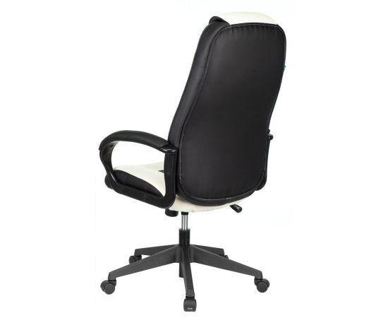 Игровое кресло Бюрократ VIKING-8N/WH-BLACK, Вариант цвета: white/black фото, изображение 4