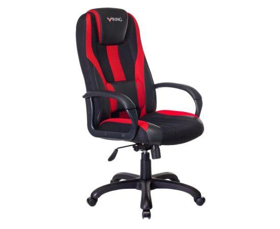 Кресло игровое Бюрократ VIKING-9/BL+RED (1160596) фото, изображение 2