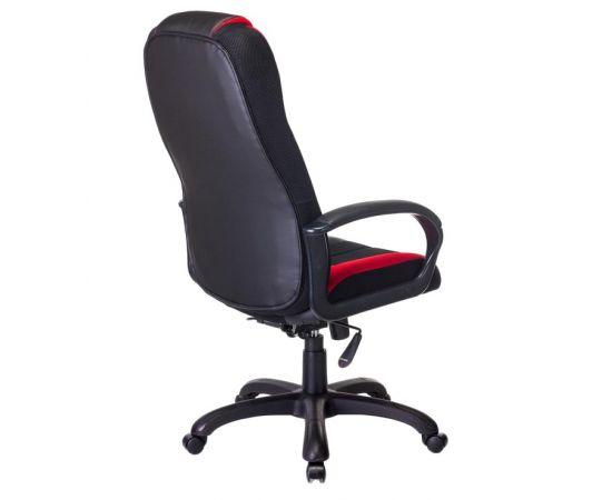 Кресло игровое Бюрократ VIKING-9/BL+RED (1160596) фото, изображение 4