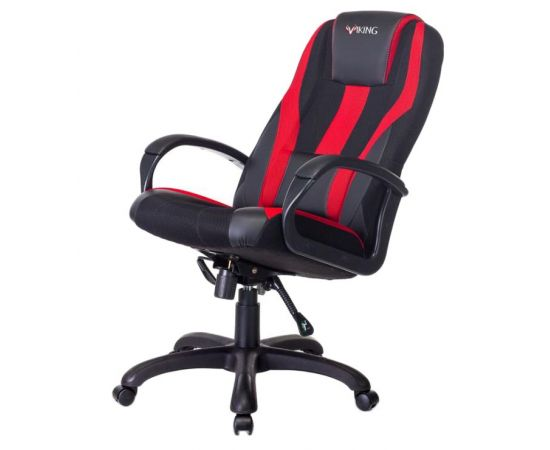 Кресло игровое Бюрократ VIKING-9/BL+RED (1160596) фото, изображение 5