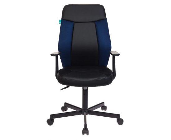Офисное кресло Бюрократ CH-606/BL+TW-10N черный/синий фото