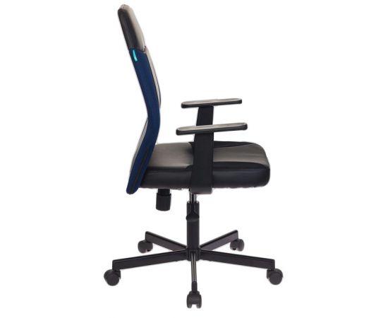 Офисное кресло Бюрократ CH-606/BL+TW-10N черный/синий фото, изображение 3