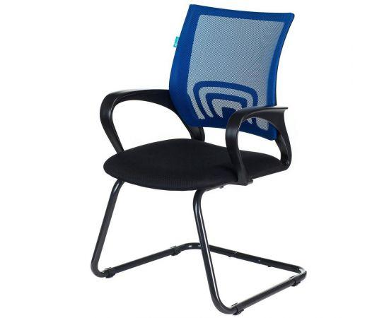 Офисное кресло посетителя Бюрократ CH-695N-AV/BL/TW-11 синий фото, изображение 2