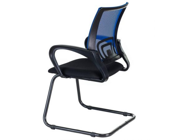 Офисное кресло посетителя Бюрократ CH-695N-AV/BL/TW-11 синий фото, изображение 4