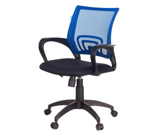 Офисное кресло Бюрократ CH-695N/BL/TW-11 синий TW-05 TW-11 (1163179) фото, изображение 2