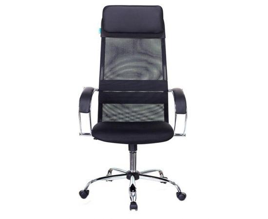Офисное кресло руководителя Бюрократ CH-608SL/BLACK фото
