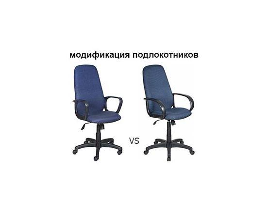 Офисное кресло руководителя Бюрократ CH-808AXSN/TW-10 синий фото, изображение 5