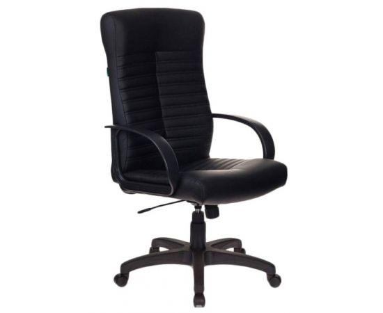 Офисное кресло руководителя Бюрократ KB-10LITE/BLACK фото, изображение 2