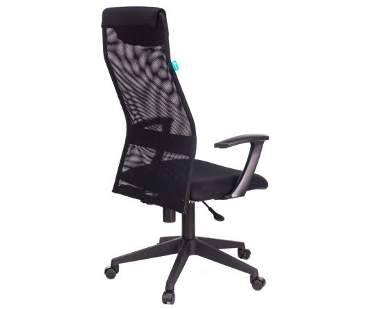Офисное кресло руководителя Бюрократ KB-8N/BLACK TW-01 TW-11 (1140281) фото, изображение 4