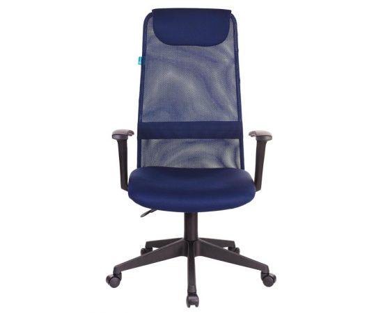 Офисное кресло руководителя Бюрократ KB-8N/DB/TW-10N синий TW-05N TW-10N фото