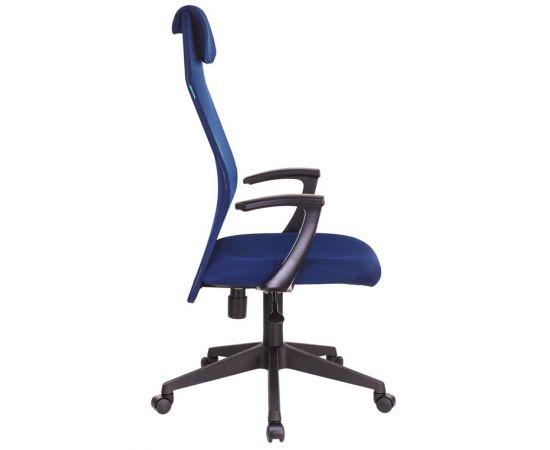 Офисное кресло руководителя Бюрократ KB-8N/DB/TW-10N синий TW-05N TW-10N фото, изображение 3