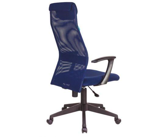 Офисное кресло руководителя Бюрократ KB-8N/DB/TW-10N синий TW-05N TW-10N фото, изображение 4