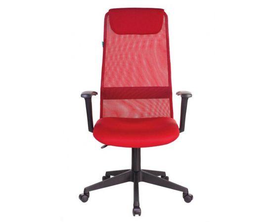 Офисное кресло руководителя Бюрократ KB-8N/R/TW-97N красный TW-35N TW-97N фото