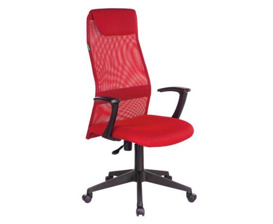 Офисное кресло руководителя Бюрократ KB-8N/R/TW-97N красный TW-35N TW-97N фото, изображение 2